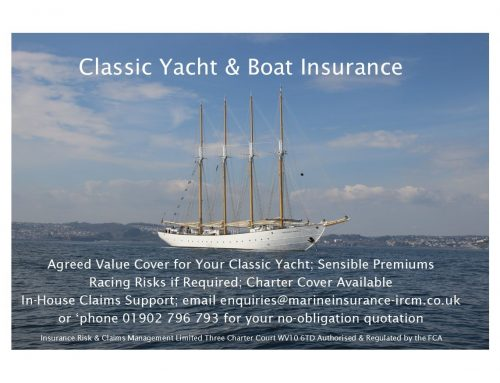 Classic Yacht & Boat Insurance